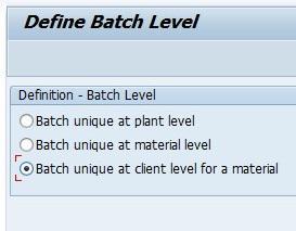sap batch management