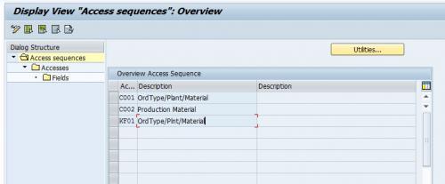 Batch Access Sequence