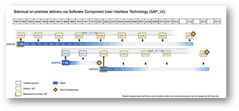 SAP On-premise delivery