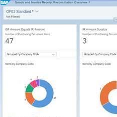Screenshot of SAP system