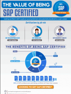 Why being certified in SAP matters