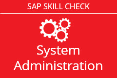 SAP System Administration Assessment