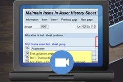 Expert Guide to the Asset History Sheet report