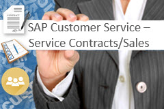SAP Customer Service - Service Contracts/Sales