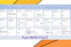 Fun With Fiori - Universal Allocations