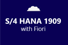 SAP S/4HANA 1909 with Fiori - Annual Subscription