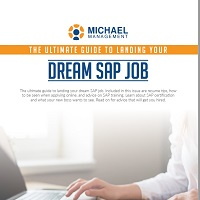 eBook The Ultimate Guide To Landing Your Dream SAP Job