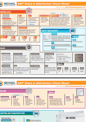 Download Your SAP Sales & Distribution Cheat Sheet
